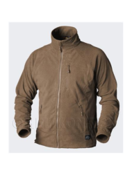 Alpha grid fleece jacket helikon coyote