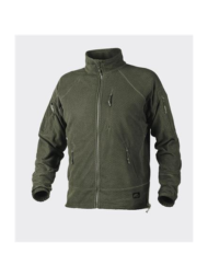 Alpha tactical grid fleece jacket helikon χακί