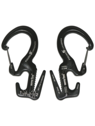 Carabiner Figure 9 Large Black Gate Nite Ize