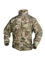Double fleece liberty jacket helikon-tex camogrom