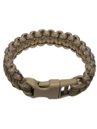 Μπρασελέ paracord coyte brown 2,3