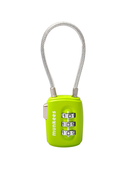 Munkees cable combination lock