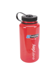 Παγούρι Nalgene bottle Everyday wide mouth 1lt κόκκινο