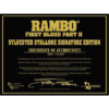 Μαχαίρι rambo first blood part II Sylvester Stallone edition