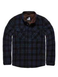 Τζάκετ Class jacket navy check Vintage Industries