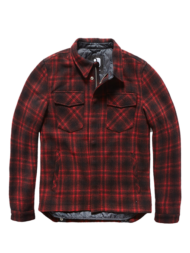 Τζάκετ Class jacket red check Vintage Industries